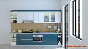 24 mẫu tủ bếp đẹp giá rẻ tại Bắc Ninh