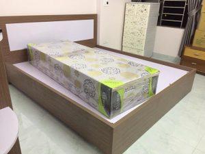 Bộ tủ giường thi công thực tế  tại nhà khách hàng T8/2018