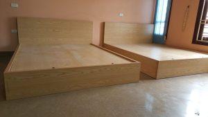 Những mẫu giường đã thi công