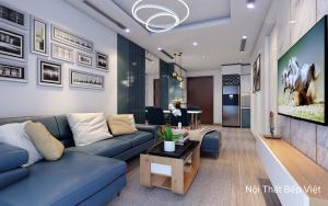 Mẫu thiết kế căn hộ chung cư Phonnic tại thành phố Bắc Ninh