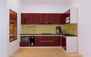 Những mẫu tủ bếp thiết kế đẹp nhất tại thành phố Bắc Ninh