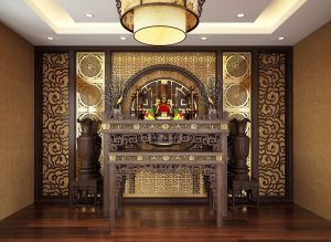 Những mẫu trang trí bàn thờ đẹp nhất TP Bắc Ninh