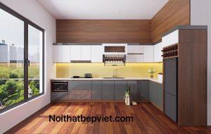 Thi công tủ bếp acrylic đẹp nhất bắc ninh – Giá rẻ nhất- chất lượng – uy tín