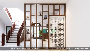 Thiết kế thi công mẫu vách ngăn phòng thờ đẹp nhất 2020 tại BẮC NINH
