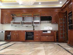 Mẫu tủ bếp đẹp uy tín đã thi công tại Bắc Ninh